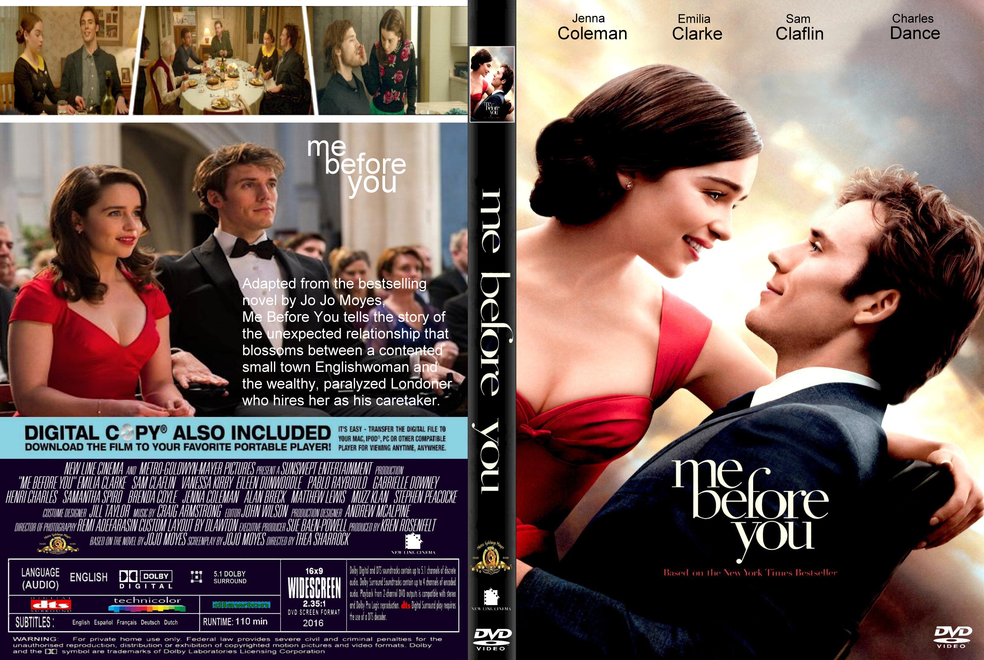 Me Before You 2016 Front Dvd Covers Cover Century Over 500 000 Album Art Covers For Free